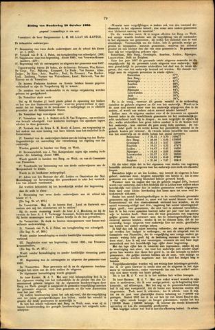 Handelingen van de Raad 1886-10-28