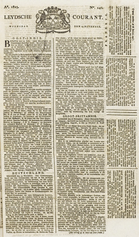 Leydse Courant 1825-11-23