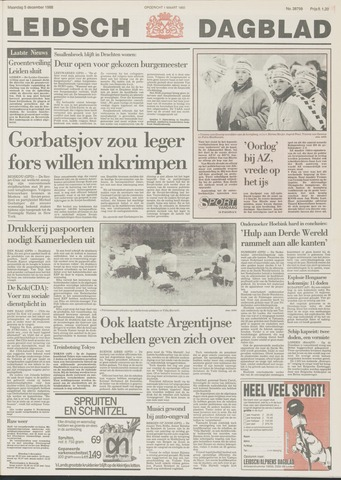 Leidsch Dagblad 1988-12-05