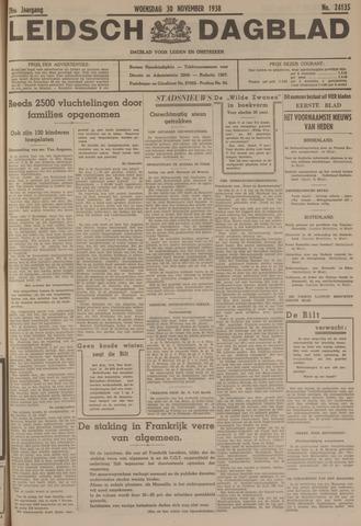 Leidsch Dagblad 1938-11-30