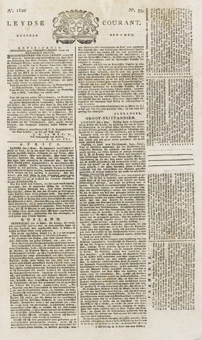 Leydse Courant 1820-05-08