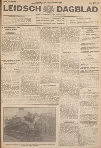 Leidsch Dagblad 1928-02-23