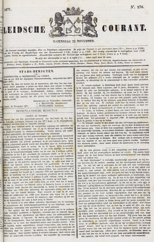 Leydse Courant 1871-11-22