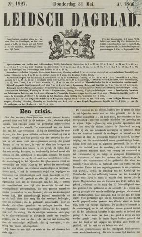 Leidsch Dagblad 1866-05-31