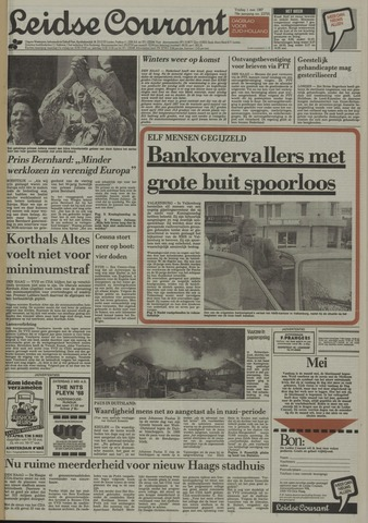 Leidse Courant 1987-05-01