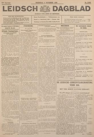 Leidsch Dagblad 1930-11-05