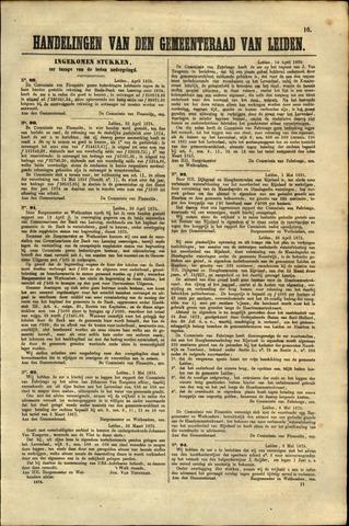 Handelingen van de Raad 1875-04-30