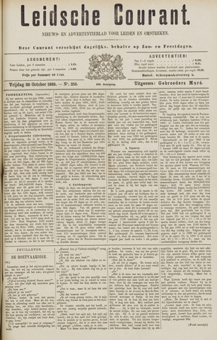 Leydse Courant 1885-10-30