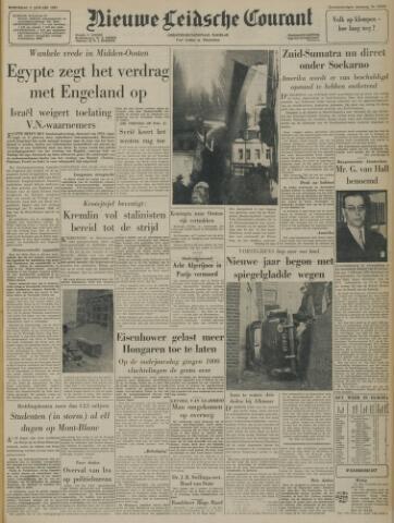 Nieuwe Leidsche Courant 1957-01-02
