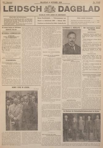 Leidsch Dagblad 1930-10-06
