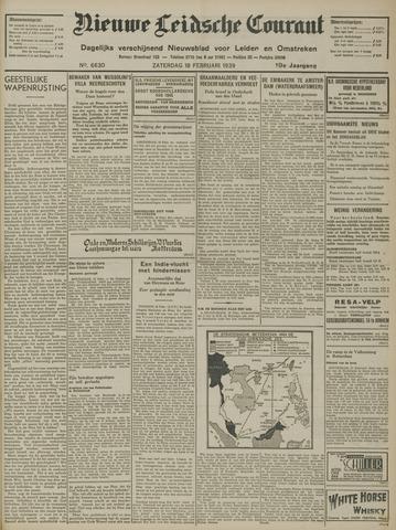 Nieuwe Leidsche Courant 1939-02-18
