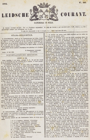 Leydse Courant 1882-07-15