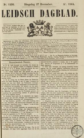 Leidsch Dagblad 1864-12-27