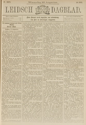 Leidsch Dagblad 1893-08-16