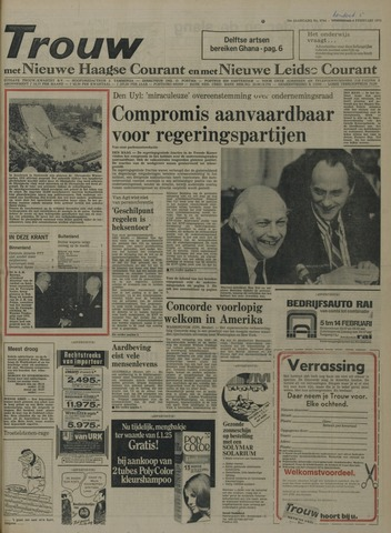 Nieuwe Leidsche Courant 1976-02-05