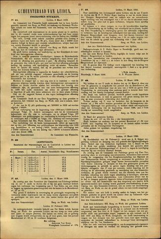 Handelingen van de Raad 1889-03-09
