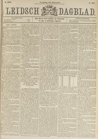 Leidsch Dagblad 1894-01-12
