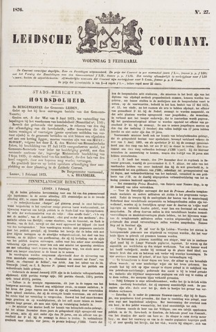 Leydse Courant 1876-02-02