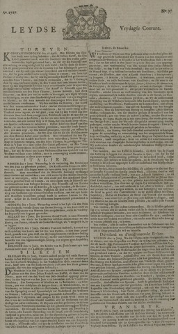 Leydse Courant 1727-06-27