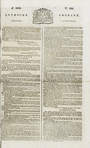 Leydse Courant 1841-12-13