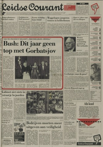 Leidse Courant 1989-01-20