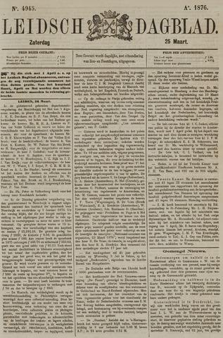 Leidsch Dagblad 1876-03-25