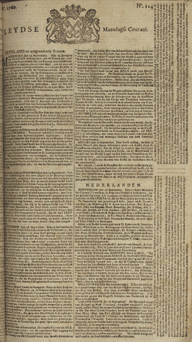 Leydse Courant 1760-09-22