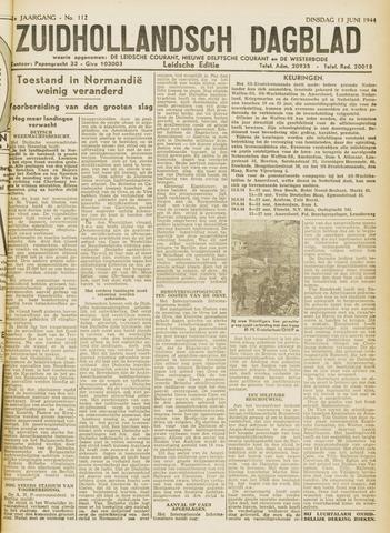 Zuidhollandsch Dagblad 1944-06-13