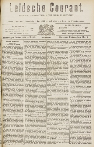 Leydse Courant 1889-10-24