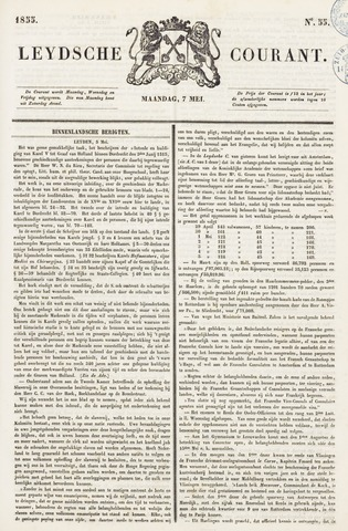 Leydse Courant 1855-05-07