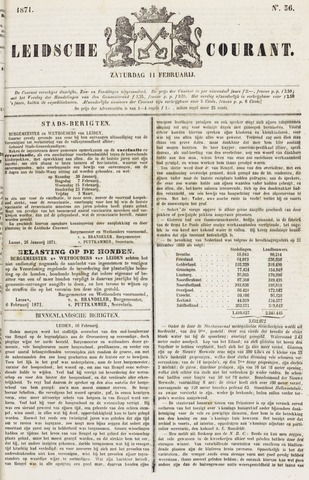 Leydse Courant 1871-02-11