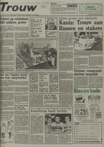 Nieuwe Leidsche Courant 1980-09-08