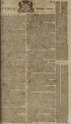 Leydse Courant 1753-05-14