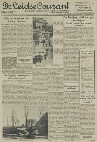 Leidse Courant 1949-04-27