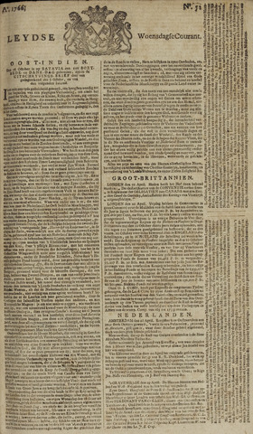 Leydse Courant 1766-04-30