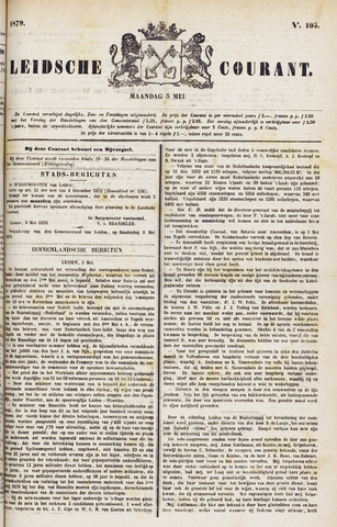 Leydse Courant 1879-05-05