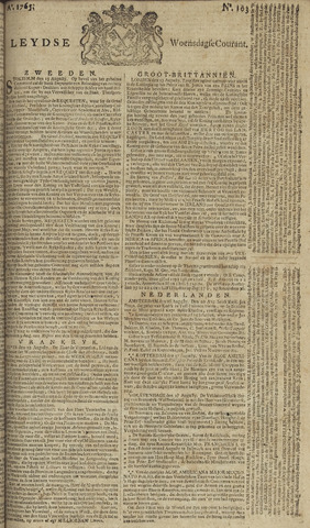 Leydse Courant 1765-08-28