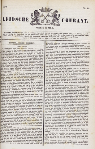 Leydse Courant 1879-04-18