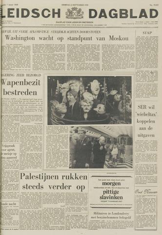 Leidsch Dagblad 1970-09-22