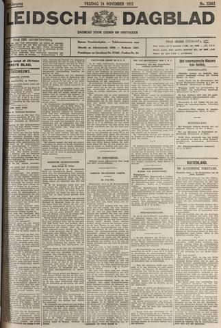 Leidsch Dagblad 1933-11-24