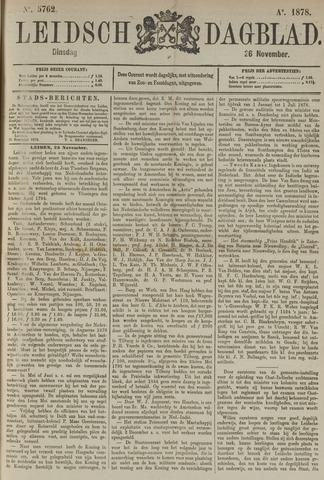 Leidsch Dagblad 1878-11-26