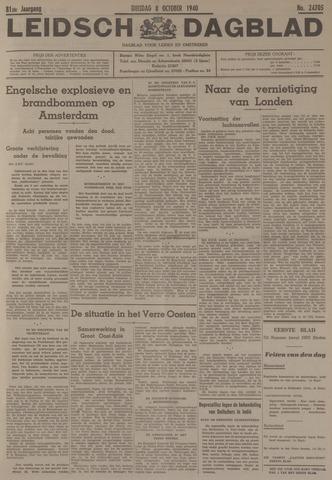 Leidsch Dagblad 1940-10-08