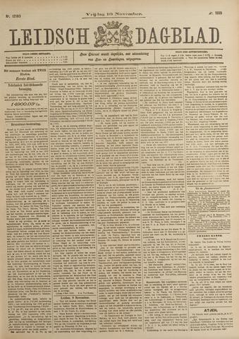 Leidsch Dagblad 1899-11-10