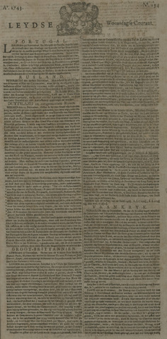 Leydse Courant 1743-12-25