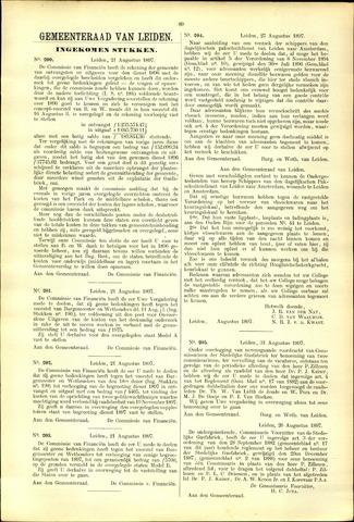 Handelingen van de Raad 1897-08-21