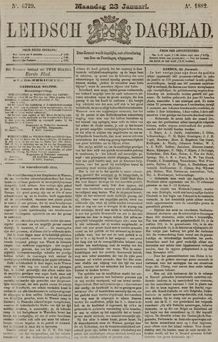 Leidsch Dagblad 1882-01-23