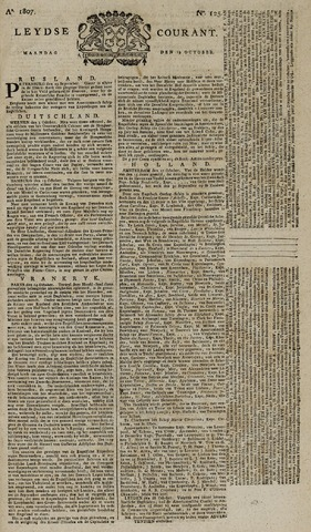 Leydse Courant 1807-10-19