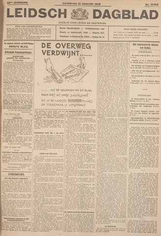 Leidsch Dagblad 1928-01-21