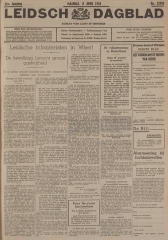 Leidsch Dagblad 1938-04-11