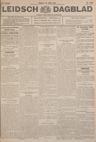 Leidsch Dagblad 1930-04-25
